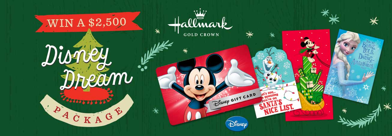 Hallmark - Disney Dream Package